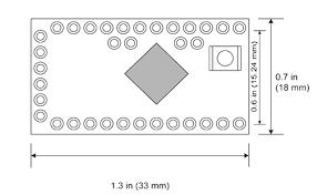 Arduino Pro Mini - ATMEGA 328P - 5V 16Mhz Arduino Compatible