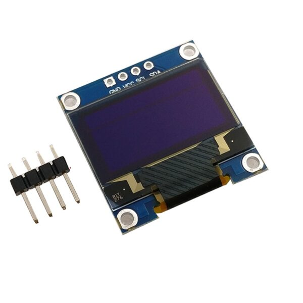 0.96 inch 128x64 OLED Display Module ( 4 Pin) sharvielectronics.com