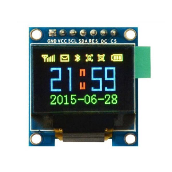 0.96 inch 128x64 OLED Display Module-SPI/I2C (6 Pin) sharvielectronics.com