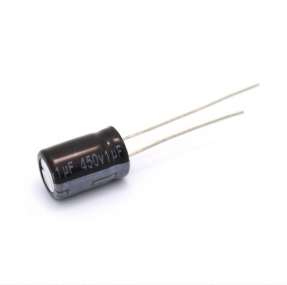1uF/450V Electrolytic Capacitor-Pack Of 3