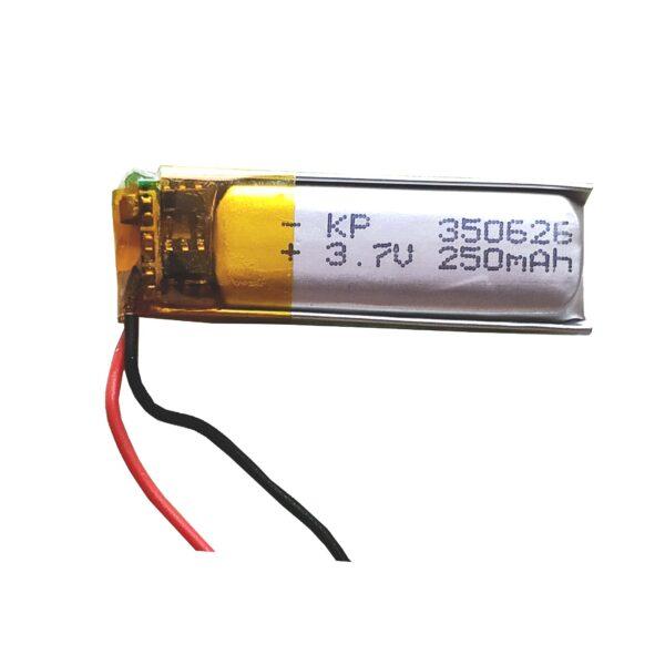 Lipo Rechargeable Battery-3.7V/250mAH-KP-350626 Model