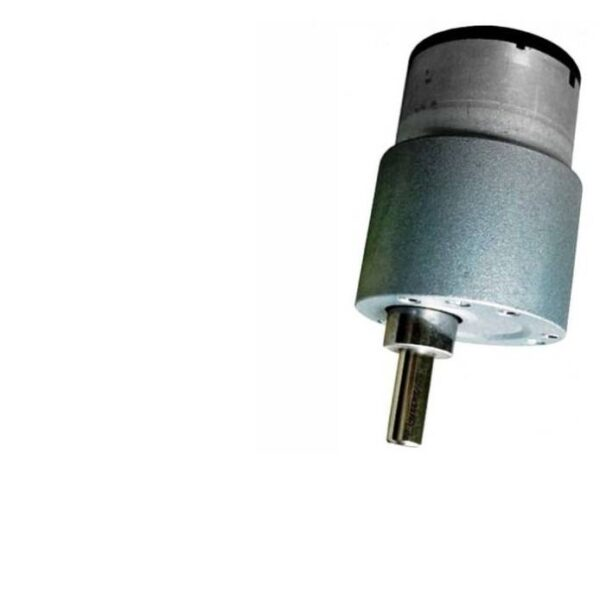 60 RPM DC Geared Motor Side Shaft
