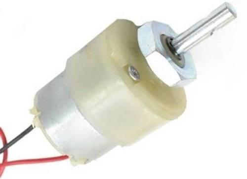 1000 RPM-12V DC Geared Motor Centre Shaft