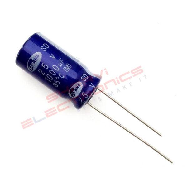 1000uf 25V elec capacitor