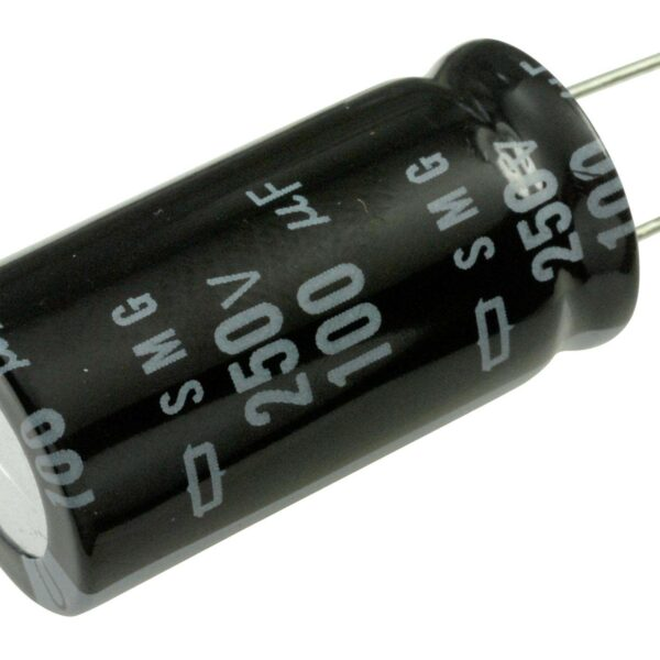 100uF/250V Electrolytic Capacitor