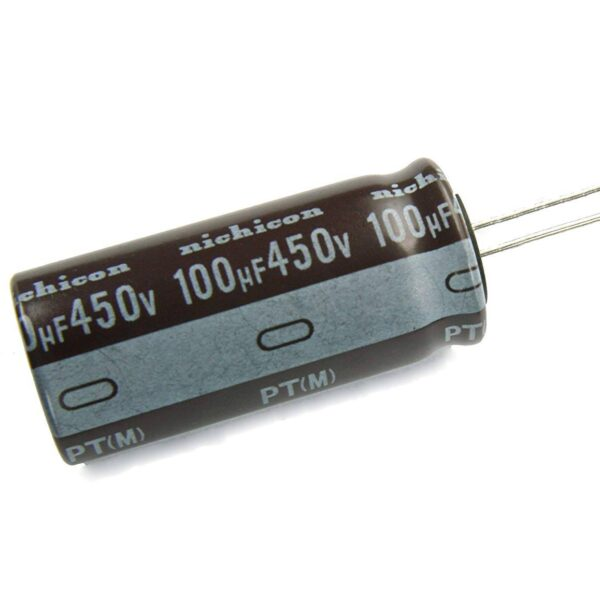 100uF/450V Electrolytic Capacitor sharvielectronics.com