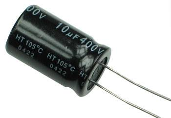 Sharvielectronics: Best Online Electronic Products Bangalore | 10uF 400V Electrolytic Capacitor | Electronic store in bangalore