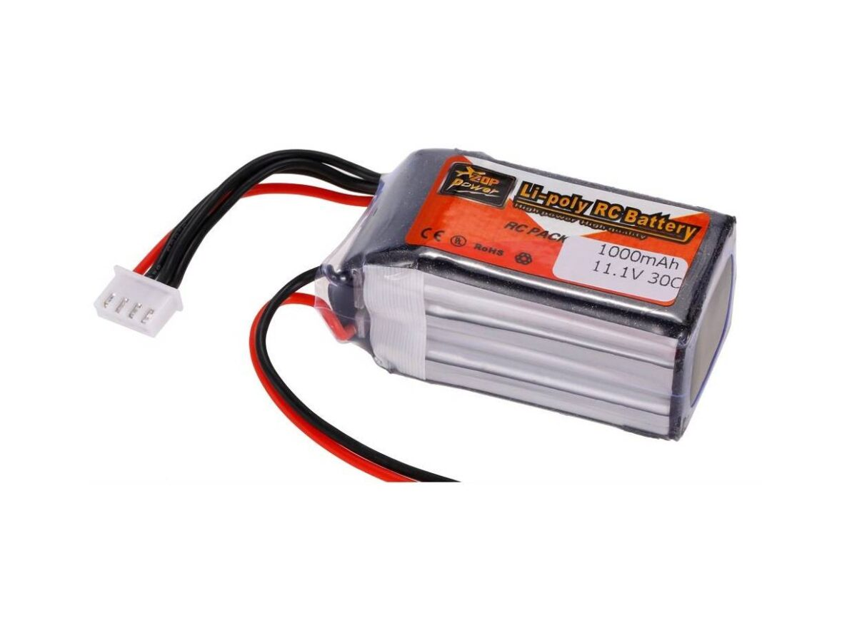 Sharvielectronics: Best Online Electronic Products Bangalore | 11.1V – 1000mAH – Lipo Rechargeable Battery – 30C 3 | Electronic store in bangalore