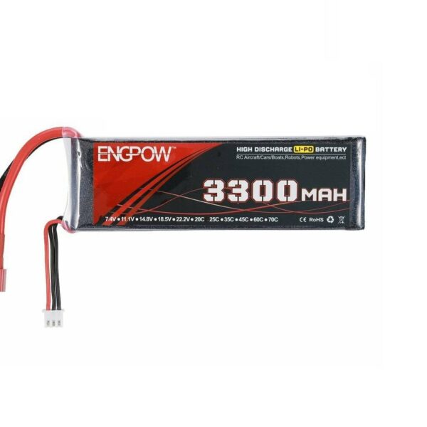 Lipo Rechargeable Battery-11.1V/3300mAH