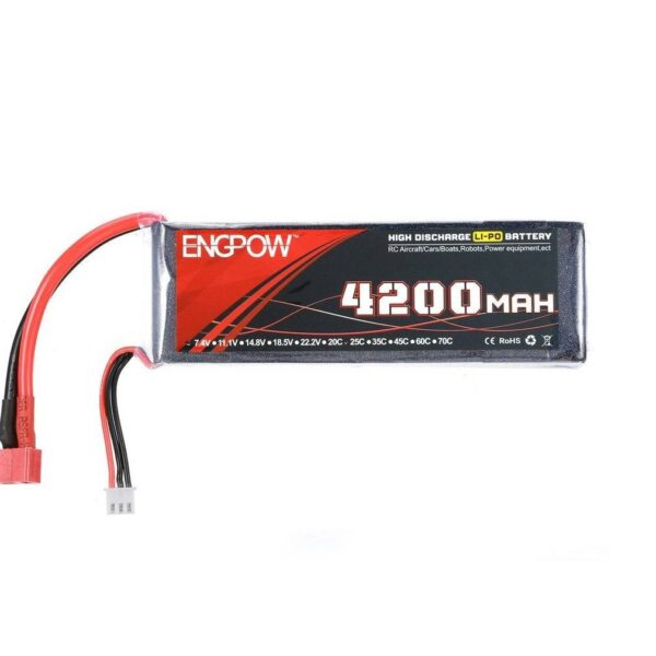 Lipo Rechargeable Battery-11.1V/4200mAH