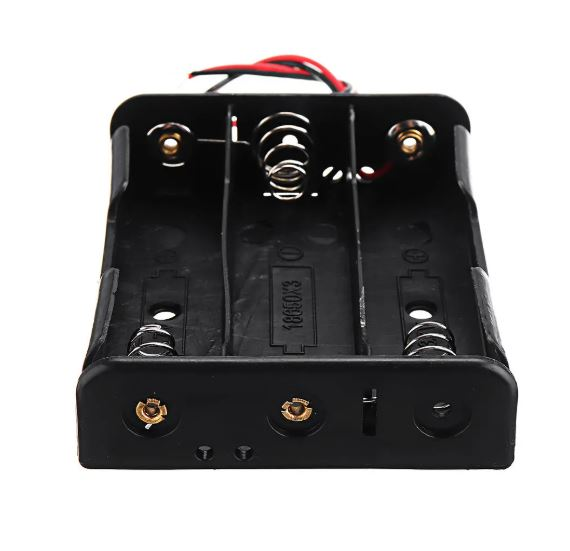 Battery Holder For 3x3.7V 18650 Lipo Battery