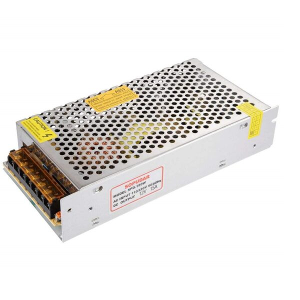24V 5A SMPS - 120W - DC Metal Power Supply Non Water Proof sharvielectronics.com