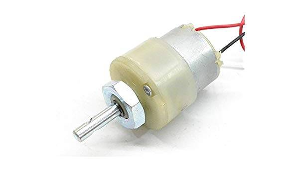 60 RPM-12V DC Geared Motor Centre Shaft