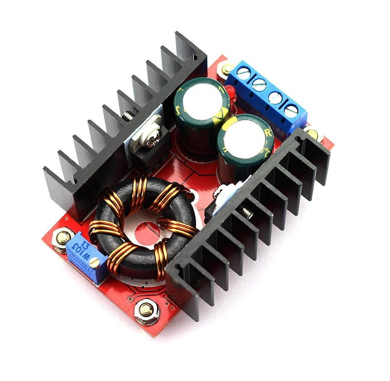 Sharvielectronics: Best Online Electronic Products Bangalore | 150W DC DC Step Up Boost Converter and Adjustable Power Supply Module 10 32V to 12 35V 6A Sharvielectronics | Electronic store in bangalore