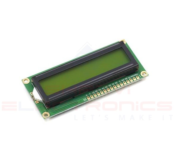 16x2 (1602) Character LCD Display Green Backlight