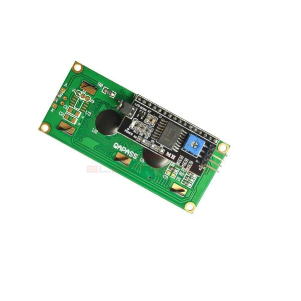 16×2 LCD Display Blue Backlight with I2C-IIC interface sharvielectronics