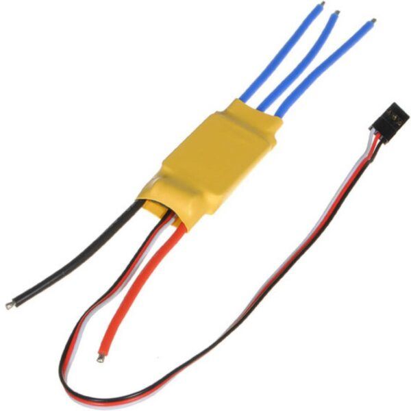 20 Amp ESC-Brushless Motor Speed Controller for Quadcopter with Connector