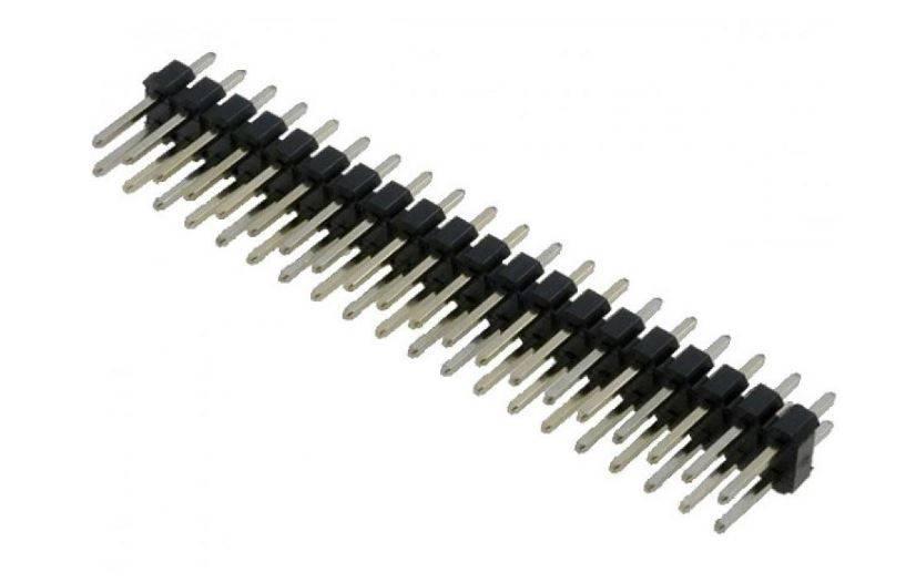 Male Berg Strip 20x2 Pin - Break Away Header