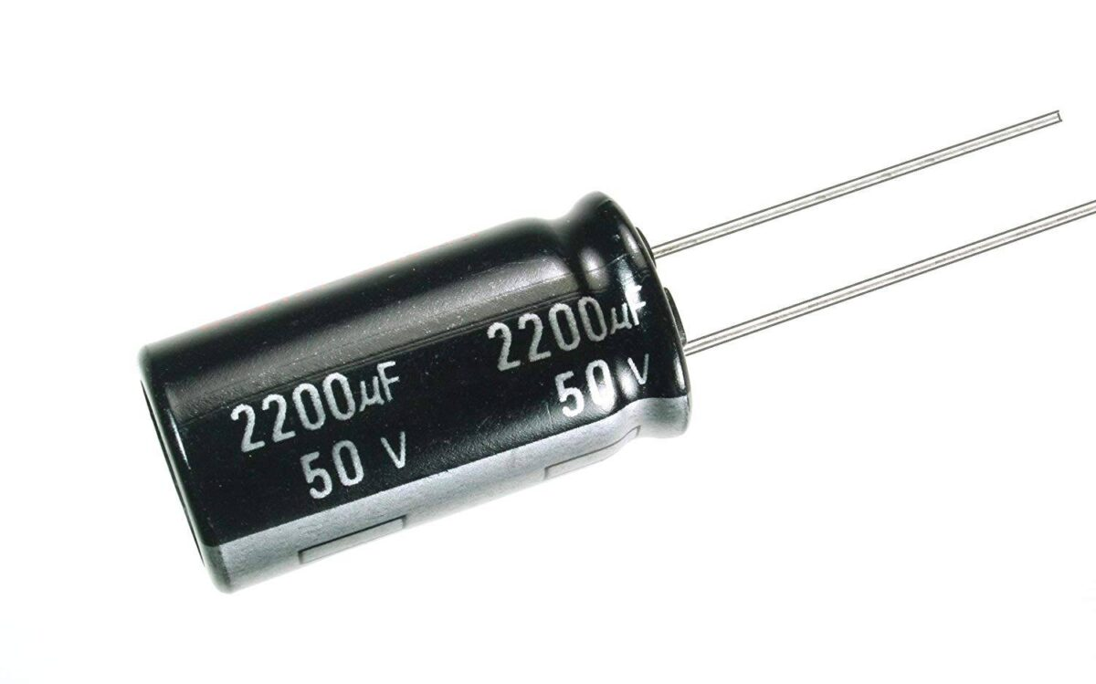 2200uF/50V Electrolytic Capacitor sharvielectronics.com