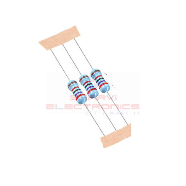 27K ohm 1 4 Watt Metal Film Resistor 1% Tol – 3 Pieces Pack_Sharvielectronics
