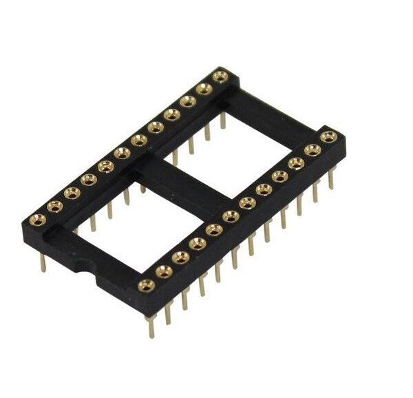 28-Pin-Machined-IC-BaseSocket-Round-Holes.jpg--Sharvielectronics