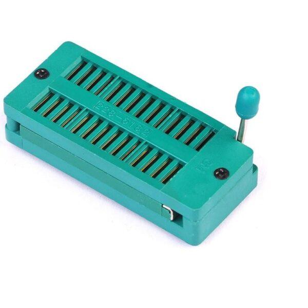 28 Pin ZIF Socket sharvielctronics.com
