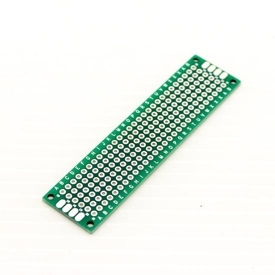 Double Sided Universal PCB Prototype Board - 2x8 cm sharvielectronics.com