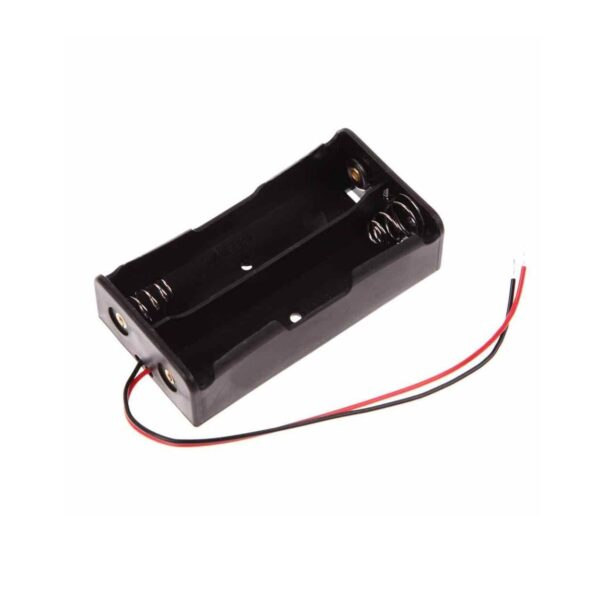 Battery Holder For 2x3.7V 18650 Lipo Battery sharvielectronics.com