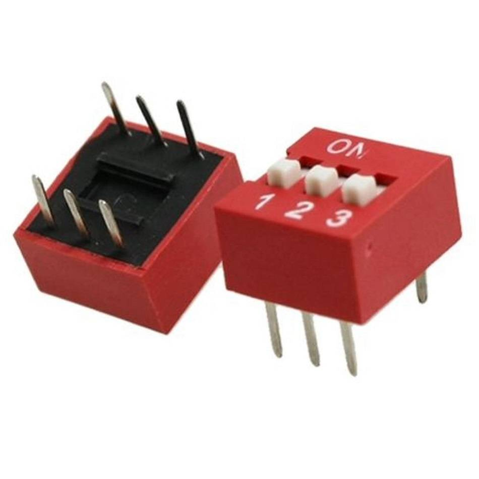 Sharvielectronics: Best Online Electronic Products Bangalore | 3 Way DIP Switch 1 | Electronic store in bangalore