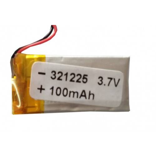 Lipo Rechargeable Battery-3.7V/100mAH-EC-321225 Model