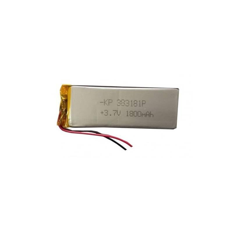 Lipo Rechargeable Battery-3.7V/1800mAH-KP-383181 Model