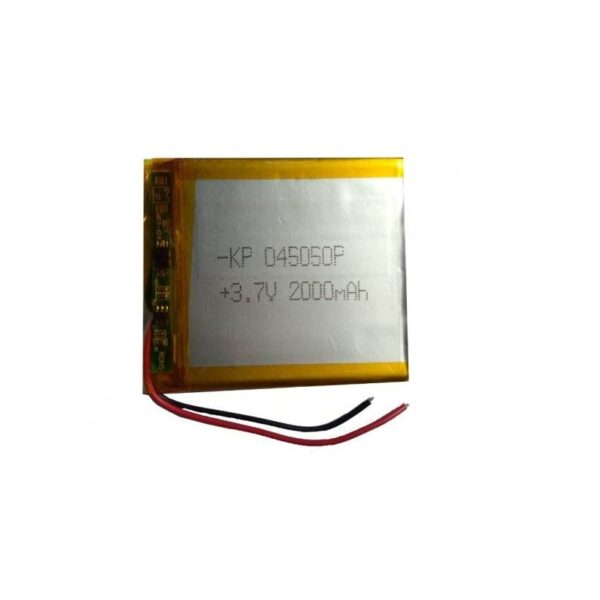 Lipo Rechargeable Battery-3.7V/2000mAH-KP-045050 Model