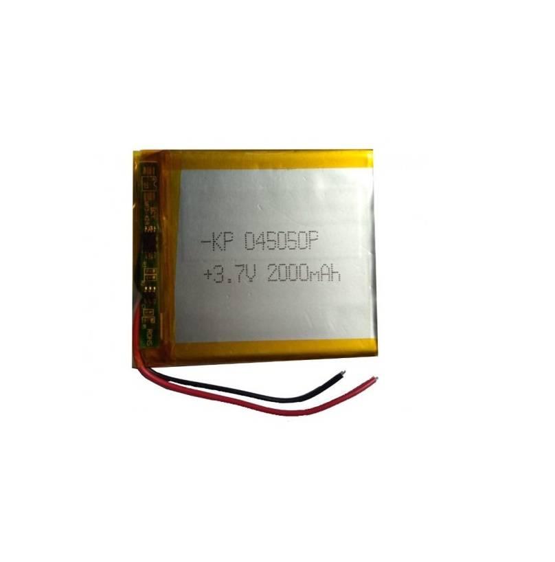 Lipo Rechargeable Battery-3.7V/2000mAH-KP-045050 Model
