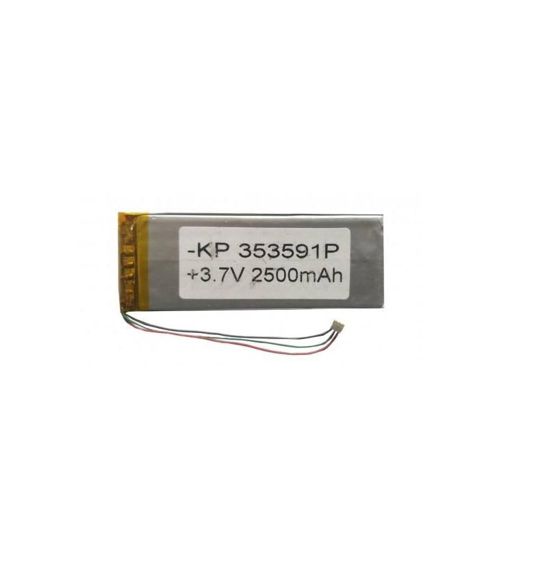 Lipo Rechargeable Battery-3.7V/2500mAH-KP-353591 Model