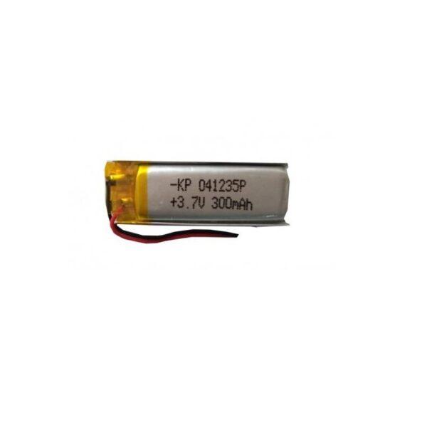 Lipo Rechargeable Battery-3.7V/300mAH-KP-041235 Model