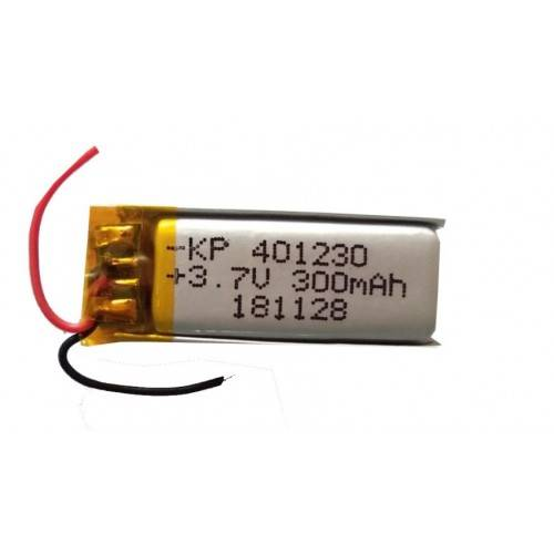 Lipo Rechargeable Battery-3.7V/300mAH-KP-401230 Model