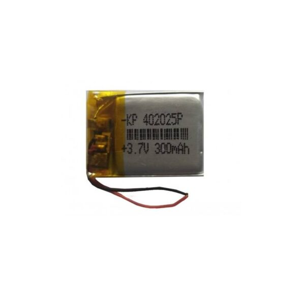 Lipo Rechargeable Battery-3.7V/300mAH-KP-402025 Model