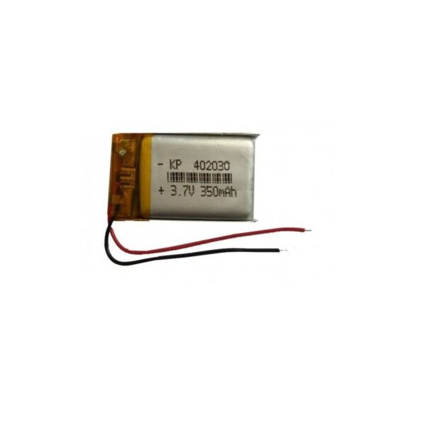 Lipo Rechargeable Battery-3.7V/350mAH-KP-402030 Model