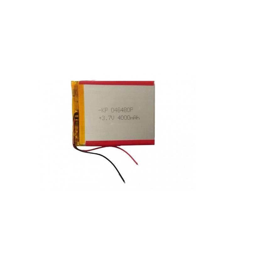 Lipo Rechargeable Battery-3.7V/4000mAH-KP 046480 Model