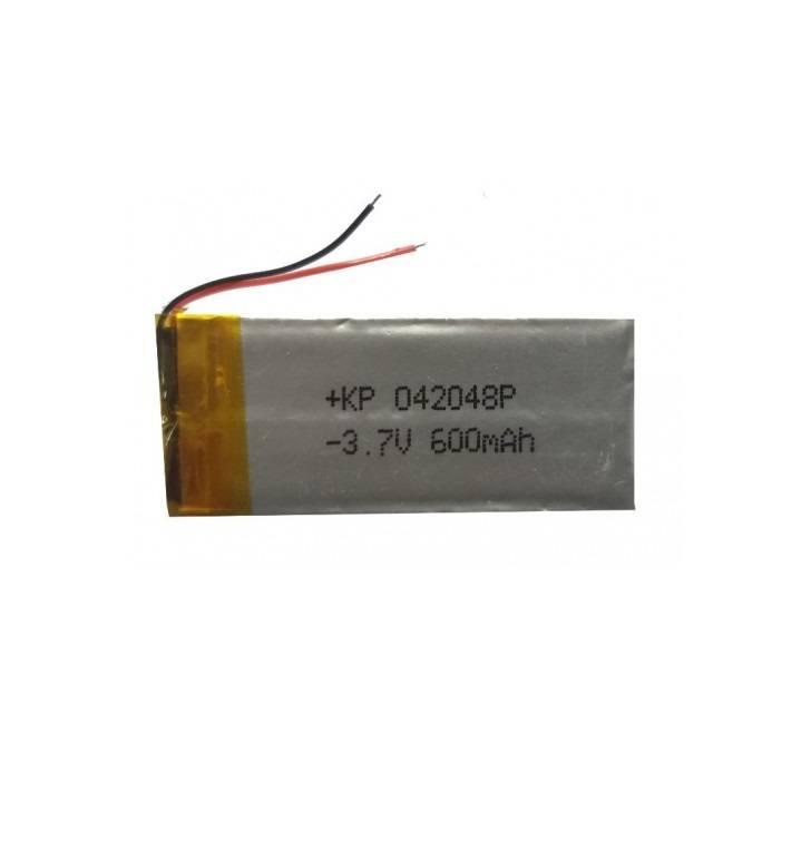 Lipo Rechargeable Battery-3.7V/600mAH-KP-042048 Model
