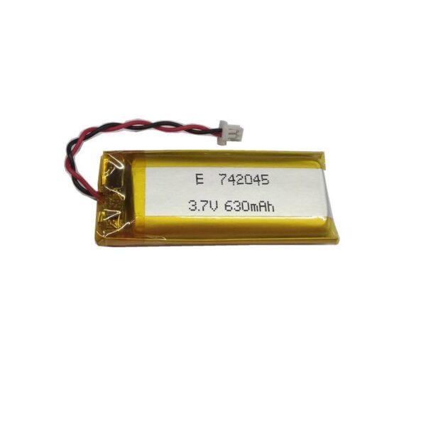 Lipo Rechargeable Battery-3.7V 630mAH