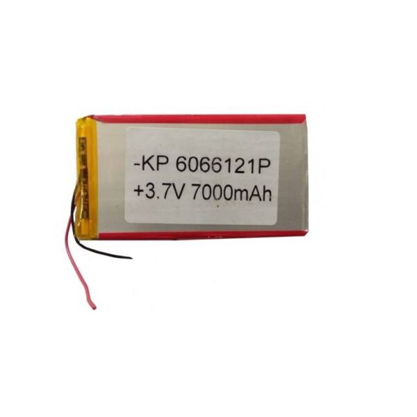 Lipo Rechargeable Battery-3.7V/7000mAH-KP-6066121 Model