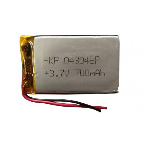Lipo Rechargeable Battery-3.7V/700mAH-KP-043048 Model
