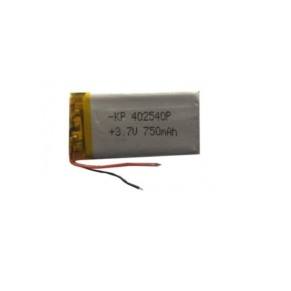 Lipo Rechargeable Battery-3.7V/750mAH-KP-402540 Model