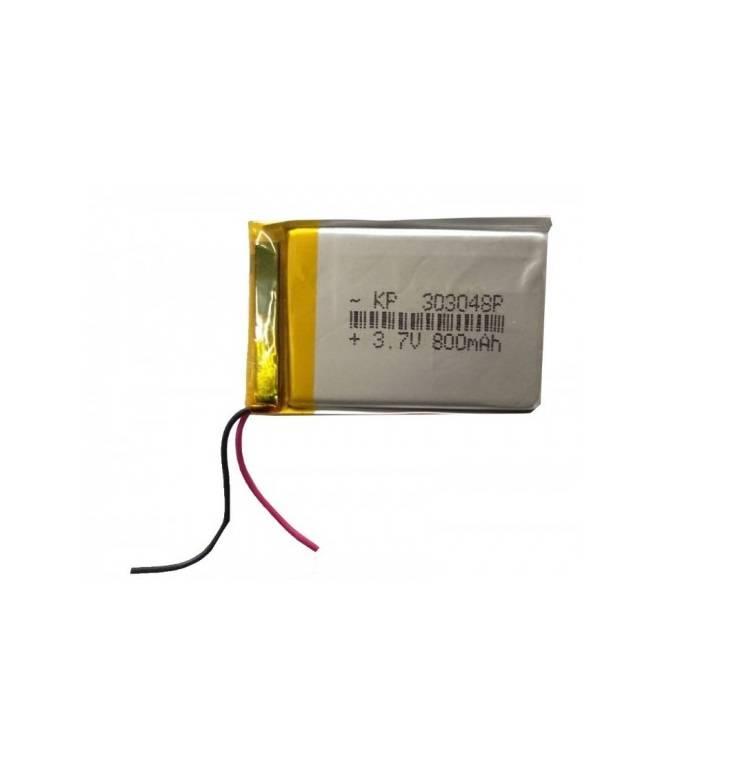 Lipo Rechargeable Battery-3.7V/800mAH-KP-303048 Model