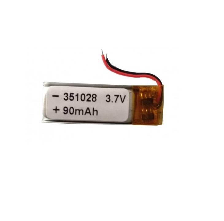 Lipo Rechargeable Battery-3.7V 90mAH-EC-351028 Model