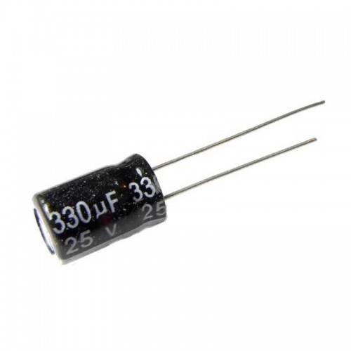330uF/25V Electrolytic Capacitor sharvielectronics