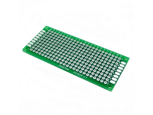 Double Sided Universal PCB Prototype Board-3x7 cm