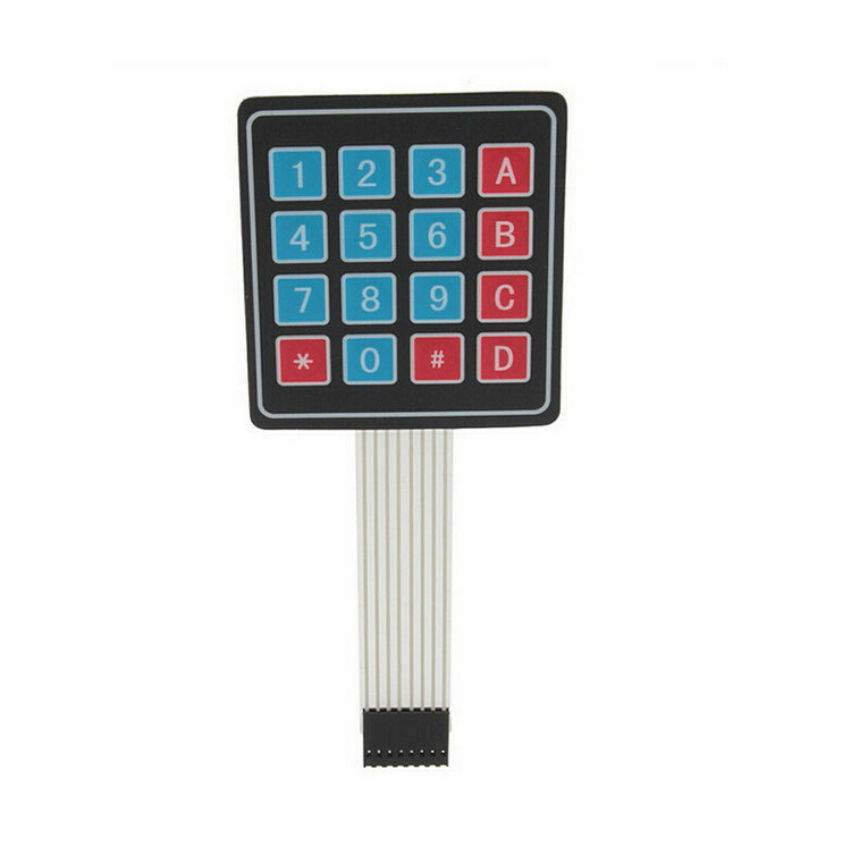 Sharvielectronics: Best Online Electronic Products Bangalore | 4×4 Matrix – Membrane Type Keypad 16 Keys | Electronic store in bangalore