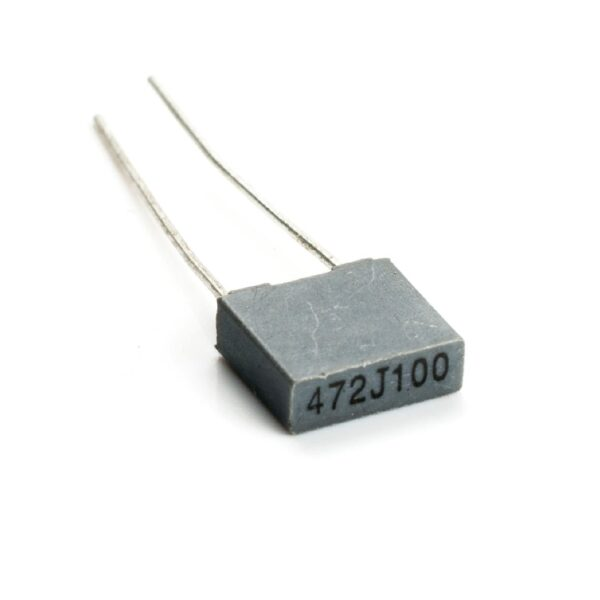 4.7nF100V (0.0047uF)-Polyester Box Capacitor_Sharvielectronics